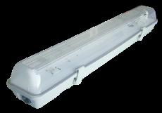 Plafoniera Con Reattore Elettronico : Plafoniera protetta per tubi t reattore elettronico u lampada