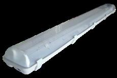 Plafoniera Con Reattore Elettronico : Plafoniera protetta per tubi t reattore elettronico v hz